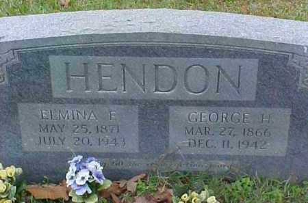 DICKSON HENDON, ELMINA FRANCIS - Pike County, Arkansas | ELMINA FRANCIS DICKSON HENDON - Arkansas Gravestone Photos