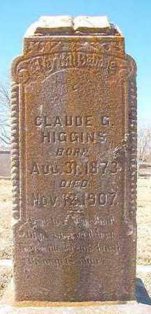HIGGINS, CLAUDE G - Pike County, Arkansas | CLAUDE G HIGGINS - Arkansas Gravestone Photos