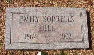 HILL, EMILY - Pike County, Arkansas | EMILY HILL - Arkansas Gravestone Photos