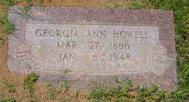 HOWELL, GEORGIANA - Pike County, Arkansas | GEORGIANA HOWELL - Arkansas Gravestone Photos