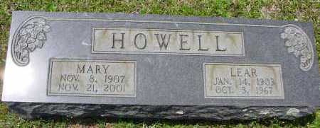 HOWELL, LEAR WILLIAM - Pike County, Arkansas | LEAR WILLIAM HOWELL - Arkansas Gravestone Photos