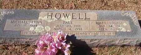 HOWELL, MARY LOUISE - Pike County, Arkansas | MARY LOUISE HOWELL - Arkansas Gravestone Photos