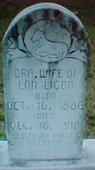 LIGON, ORA LEE - Pike County, Arkansas | ORA LEE LIGON - Arkansas Gravestone Photos
