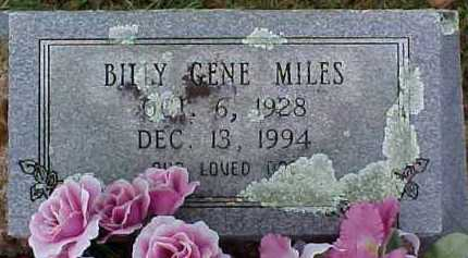 MILES, BILLY GENE - Pike County, Arkansas | BILLY GENE MILES - Arkansas Gravestone Photos