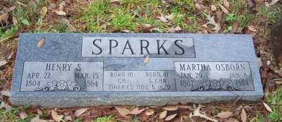 OSBORN SPARKS, MARTHA - Pike County, Arkansas | MARTHA OSBORN SPARKS - Arkansas Gravestone Photos