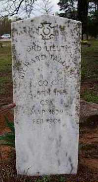 TALLANT  (VETERAN CSA), RICHARD MARION - Pike County, Arkansas | RICHARD MARION TALLANT  (VETERAN CSA) - Arkansas Gravestone Photos