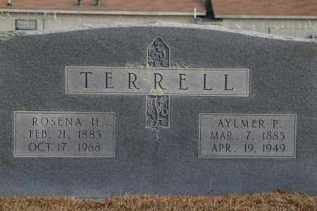 HUDDLESTON TERRELL, ROSENA - Pike County, Arkansas | ROSENA HUDDLESTON TERRELL - Arkansas Gravestone Photos