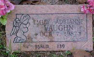 VAUGHN, EMILY ADRIANNE - Pike County, Arkansas | EMILY ADRIANNE VAUGHN - Arkansas Gravestone Photos