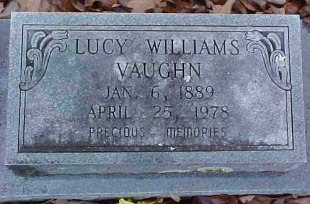 WILLIAMS VAUGHN, LUCY BELLE - Pike County, Arkansas | LUCY BELLE WILLIAMS VAUGHN - Arkansas Gravestone Photos