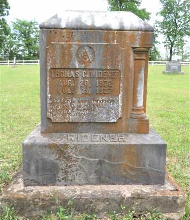 WIDENER, THOMAS COREPARLEY - Pike County, Arkansas | THOMAS COREPARLEY WIDENER - Arkansas Gravestone Photos