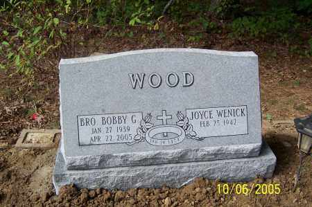 WOOD, BOBBY G. - Pike County, Arkansas | BOBBY G. WOOD - Arkansas Gravestone Photos