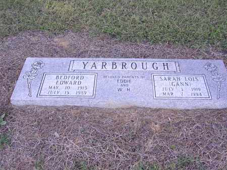 GANN YARBROUGH, SARAH LOIS - Poinsett County, Arkansas | SARAH LOIS GANN YARBROUGH - Arkansas Gravestone Photos