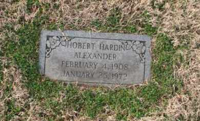 ALEXANDER, HOBERT HARDIN - Poinsett County, Arkansas | HOBERT HARDIN ALEXANDER - Arkansas Gravestone Photos
