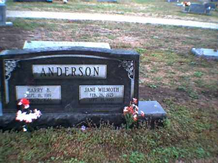 ANDERSON, HARRY B - Poinsett County, Arkansas | HARRY B ANDERSON - Arkansas Gravestone Photos