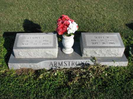 ARMSTRONG, SCOTT W. - Poinsett County, Arkansas | SCOTT W. ARMSTRONG - Arkansas Gravestone Photos