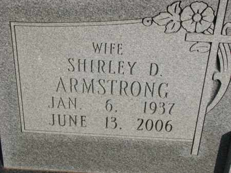 ARMSTRONG, SHIRLEY D. - Poinsett County, Arkansas | SHIRLEY D. ARMSTRONG - Arkansas Gravestone Photos