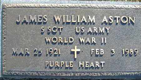 ASTON  (VETERAN WWII), JAMES WILLIAM - Poinsett County, Arkansas | JAMES WILLIAM ASTON  (VETERAN WWII) - Arkansas Gravestone Photos