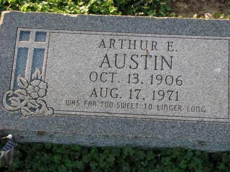 AUSTIN, ARTHUR E. - Poinsett County, Arkansas | ARTHUR E. AUSTIN - Arkansas Gravestone Photos