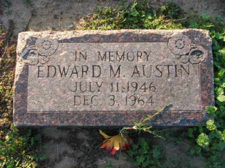 AUSTIN, EDWARD M. - Poinsett County, Arkansas | EDWARD M. AUSTIN - Arkansas Gravestone Photos