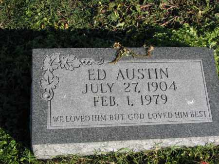 AUSTIN, ED - Poinsett County, Arkansas | ED AUSTIN - Arkansas Gravestone Photos
