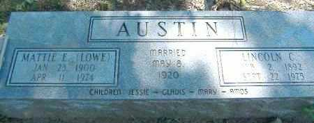 AUSTIN, LINCOLN C. - Poinsett County, Arkansas | LINCOLN C. AUSTIN - Arkansas Gravestone Photos