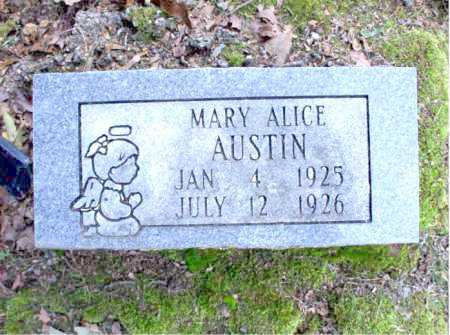 AUSTIN, MARY ALICE - Poinsett County, Arkansas | MARY ALICE AUSTIN - Arkansas Gravestone Photos