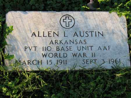AUSTIN (VETERAN WWII), ALLEN L - Poinsett County, Arkansas | ALLEN L AUSTIN (VETERAN WWII) - Arkansas Gravestone Photos
