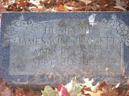 BAGGETT, JAMES WILL - Poinsett County, Arkansas | JAMES WILL BAGGETT - Arkansas Gravestone Photos