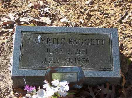 BAGGETT, T. MYRTLE - Poinsett County, Arkansas | T. MYRTLE BAGGETT - Arkansas Gravestone Photos