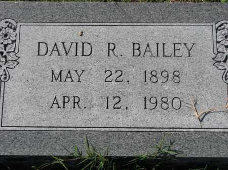 BAILEY, DAVID R. - Poinsett County, Arkansas | DAVID R. BAILEY - Arkansas Gravestone Photos