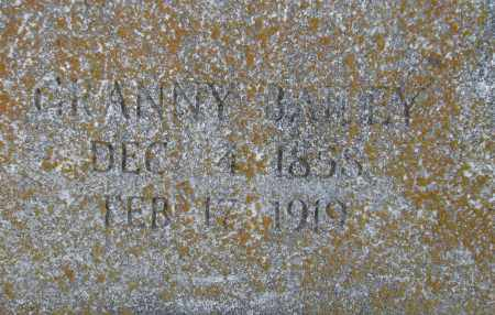 BAILEY, GRANNY - Poinsett County, Arkansas | GRANNY BAILEY - Arkansas Gravestone Photos
