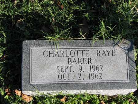 BAKER, CHARLOTTE RAYE - Poinsett County, Arkansas | CHARLOTTE RAYE BAKER - Arkansas Gravestone Photos