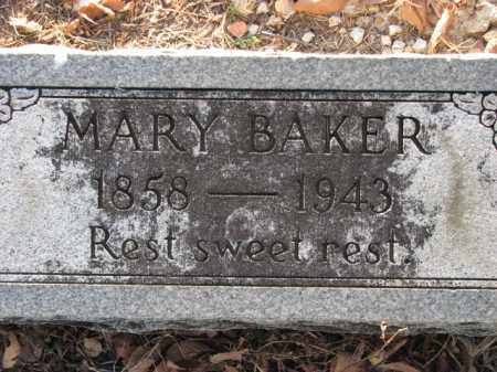 BAKER, MARY - Poinsett County, Arkansas | MARY BAKER - Arkansas Gravestone Photos