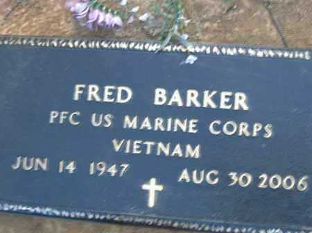 BARKER  (VETERAN VIET), FRED - Poinsett County, Arkansas | FRED BARKER  (VETERAN VIET) - Arkansas Gravestone Photos