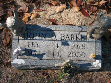 BARKER, JOHN D - Poinsett County, Arkansas | JOHN D BARKER - Arkansas Gravestone Photos