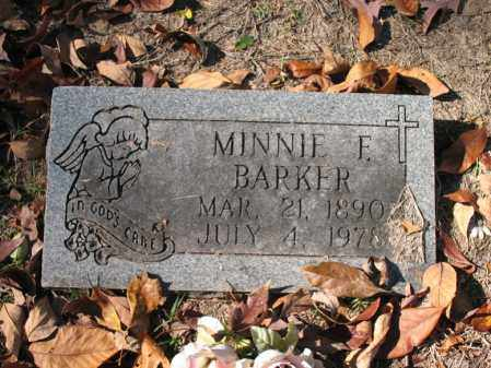 BARKER, MINNIE F - Poinsett County, Arkansas | MINNIE F BARKER - Arkansas Gravestone Photos