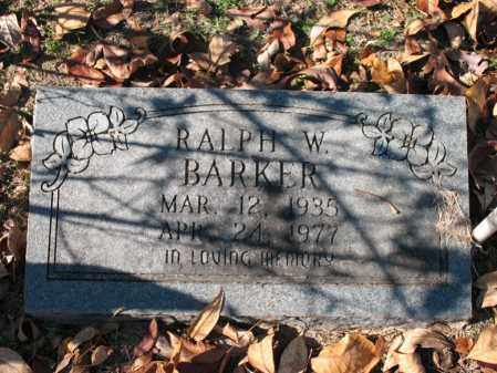 BARKER, RALPH W - Poinsett County, Arkansas | RALPH W BARKER - Arkansas Gravestone Photos