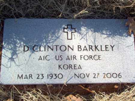 BARKLEY (VETERAN KOR), D CLINTON - Poinsett County, Arkansas | D CLINTON BARKLEY (VETERAN KOR) - Arkansas Gravestone Photos