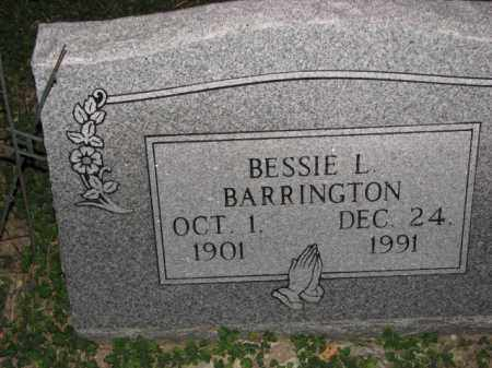 BARRINGTON, BESSIE L. - Poinsett County, Arkansas | BESSIE L. BARRINGTON - Arkansas Gravestone Photos