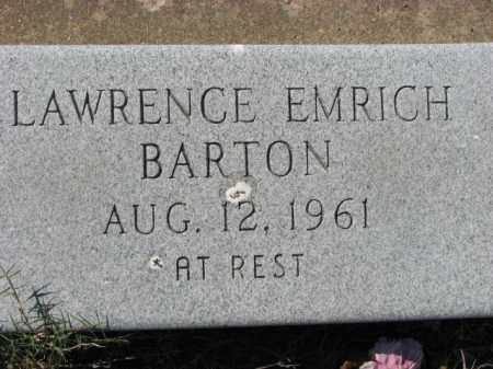 BARTON, LAWRENCE - Poinsett County, Arkansas | LAWRENCE BARTON - Arkansas Gravestone Photos