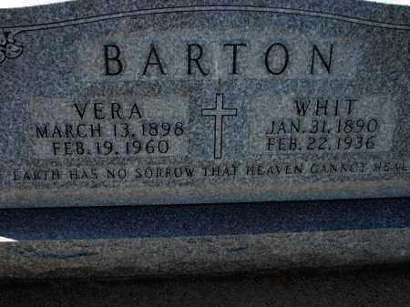 BARTON, WHIT - Poinsett County, Arkansas | WHIT BARTON - Arkansas Gravestone Photos