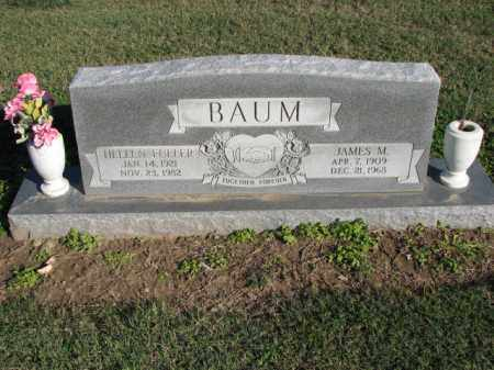 BAUM, JAMES M. - Poinsett County, Arkansas | JAMES M. BAUM - Arkansas Gravestone Photos