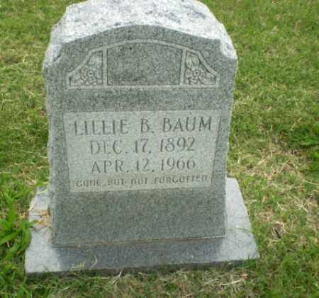 BAUM, LILLIE B - Poinsett County, Arkansas | LILLIE B BAUM - Arkansas Gravestone Photos