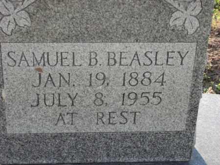 BEASLEY, SAMUEL B. - Poinsett County, Arkansas | SAMUEL B. BEASLEY - Arkansas Gravestone Photos