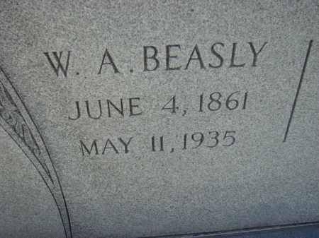 BEASLY, W.A. - Poinsett County, Arkansas | W.A. BEASLY - Arkansas Gravestone Photos