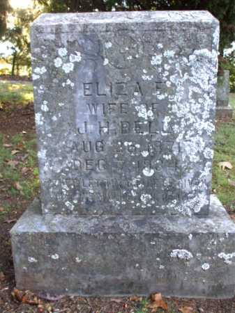 BELL, ELIZA E. - Poinsett County, Arkansas | ELIZA E. BELL - Arkansas Gravestone Photos