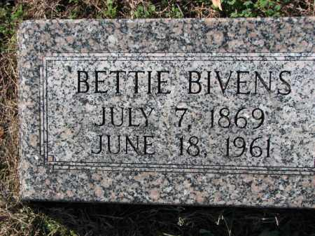 BIVENS, BETTIE - Poinsett County, Arkansas | BETTIE BIVENS - Arkansas Gravestone Photos