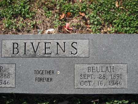 BIVENS, BEULAH - Poinsett County, Arkansas | BEULAH BIVENS - Arkansas Gravestone Photos