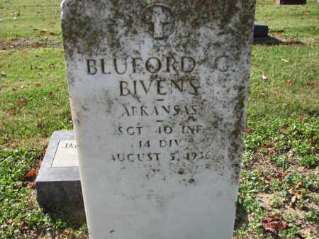 BIVENS (VETERAN), BLUFORD G - Poinsett County, Arkansas | BLUFORD G BIVENS (VETERAN) - Arkansas Gravestone Photos