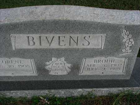 BIVENS, BRODIE - Poinsett County, Arkansas | BRODIE BIVENS - Arkansas Gravestone Photos